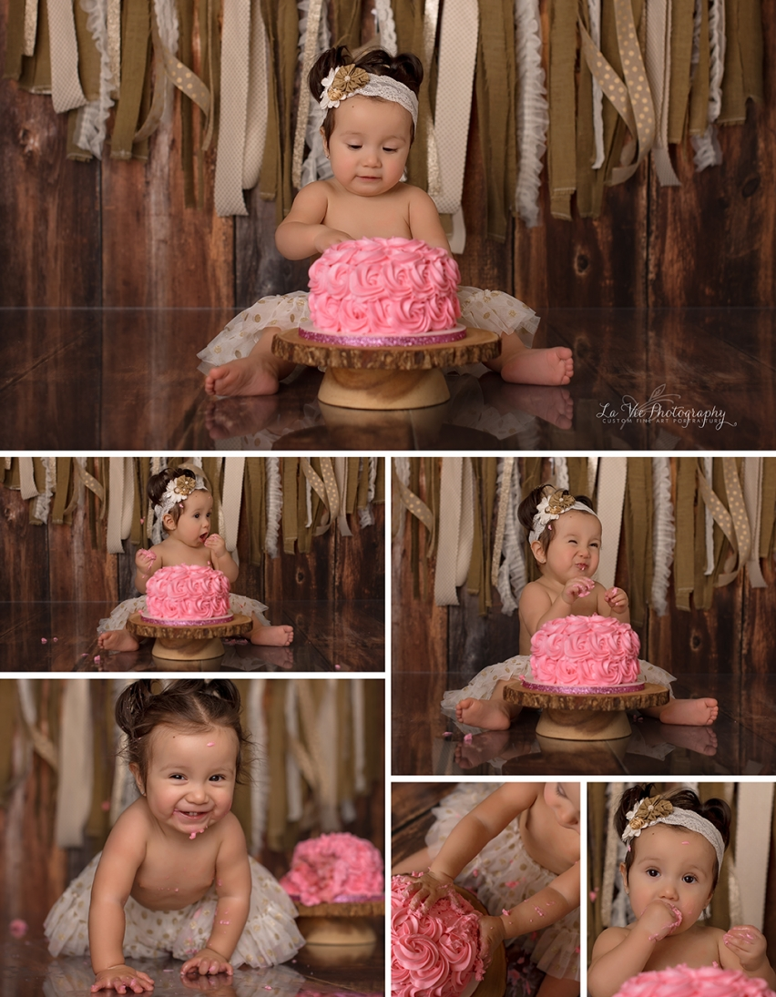 Cake Smash Portraits-Pearland, Tx La Vie Photography