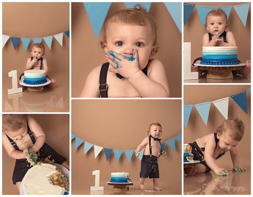 Cake Smash Portraits-La Vie Photography-Houston,Tx