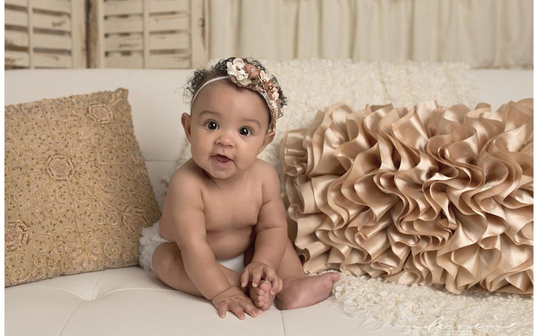 Houston Baby Milestone Photographer | Elia
